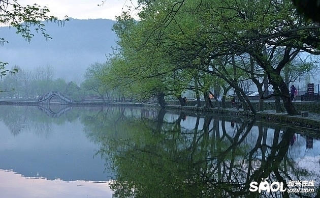 齐山风景区的水系
