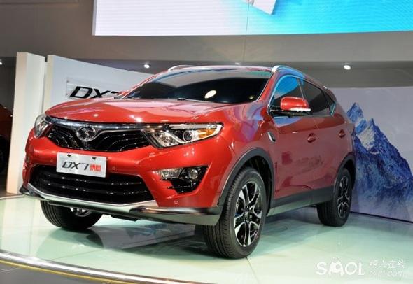 或10万起售 东南汽车DX7博朗将2015年上市高清图片