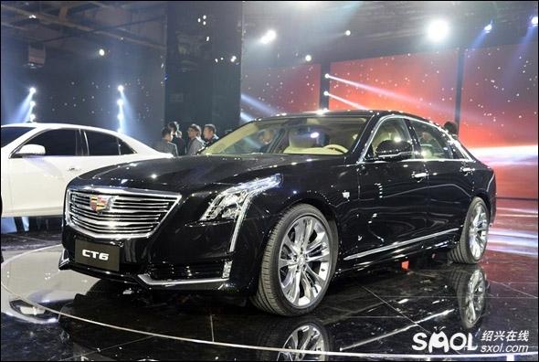 凯迪拉克ct6 phev插电式混合动力车全球首发