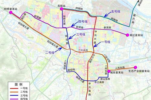 绍兴市区再添快速公交线 brt3号线支线已开工