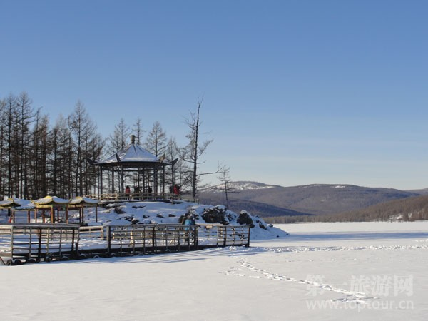 """内蒙古——阿尔山国家森林公园里的""""冰雪童话世界"""""""